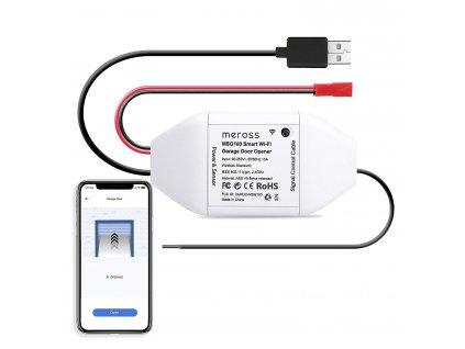 Otvírač garážových vrat - Meross, Smart Garage Door Opener WiFi