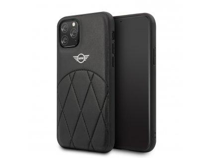 Ochranný kryt na iPhone 11 Pro - Mini, Stitched Crossing Lines Black