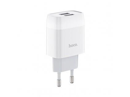 Nabíjecí AC adaptér pro iPhone a iPad - Hoco, C73A Glorious 2.4A