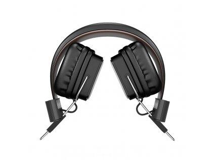 Bezdrátová náhlavní sluchátka - Hoco, W20 Gleeful Black