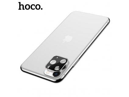 Ochranná fólie na zadní kameru iPhone 11 Pro / 11 Pro MAX - Hoco, Metal Frame Silver