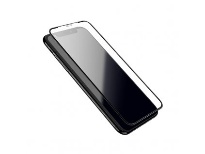 Ochranné tvrzené sklo pro iPhone X / XS / 11 Pro - Hoco, G1 FlashAttach 3D Black