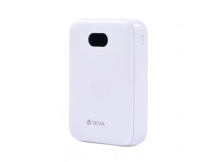 Externí baterie / powerbanka - Devia, Digital Mini 10000mah White