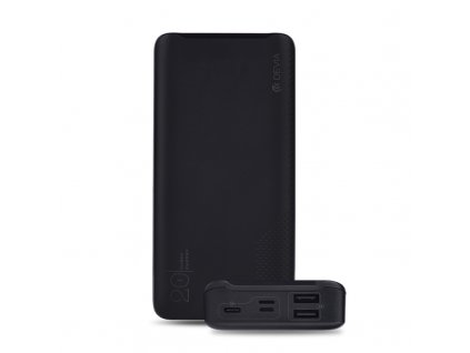 Externí baterie / powerbanka - Devia, Smart 20000mah Black
