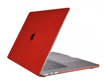Polykarbonátové pouzdro na MacBook Pro 13 (2016-2019) - Comma, Hard Jacket Red