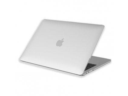 Polykarbonátové pouzdro / kryt na MacBook Air 13 (2018-2019) - Comma, Hard Jacket Clear