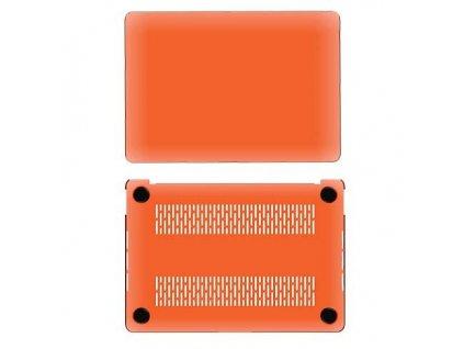 Polykarbonátové pouzdro / kryt na MacBook Air 13 (2018-2019) - Comma, Hard Jacket Orange