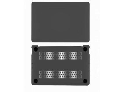 Polykarbonátové pouzdro / kryt na MacBook Air 13 (2018-2019) - Comma, Hard Jacket Black