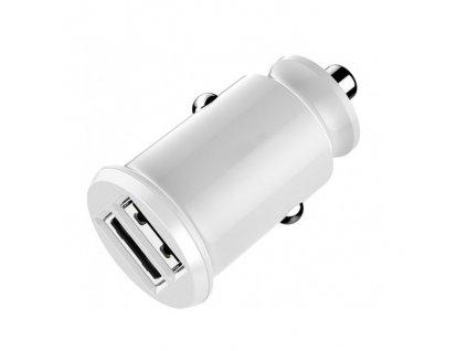 Auto-nabíječka pro iPhone a iPad - Devia, Smart 3.1A White