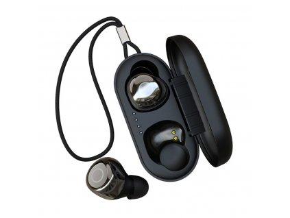 Bezdrátová sluchátka - Devia, Joypods TWS V2 Black