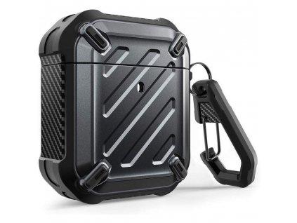 Pouzdro pro sluchátka AirPods - Supcase, Unicorn Beetle Pro Rugged Black