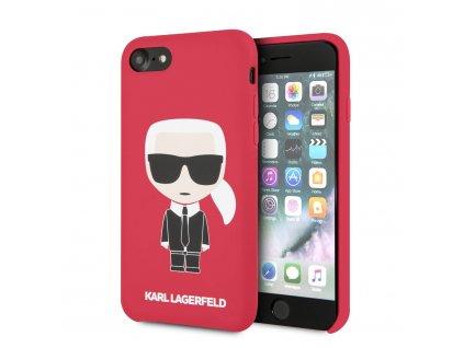 Ochranný kryt pro iPhone 7 / 8 / SE (2020) - Karl Lagerfeld, Full Body Red