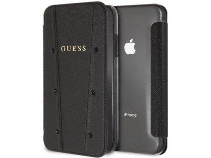 Pouzdro / kryt pro iPhone 7 Plus / 8 Plus - Guess, Kaia Book Black