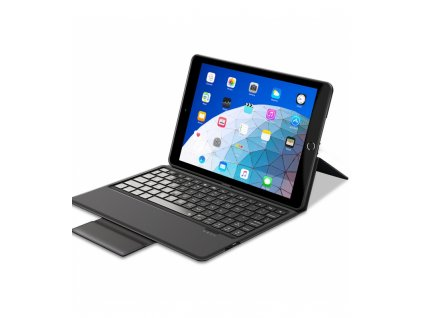 Pouzdro s klávesnicí pro iPad 9.7 (2017-2018) - ESR, Bluetooth Keyboard Black