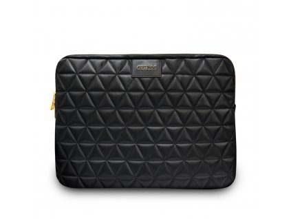 """Pouzdro na notebook 13"""" - Guess, Quilted Sleeve Black"""