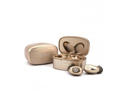 Bezdrátová sluchátka - Guess, Wireless Headset Gold