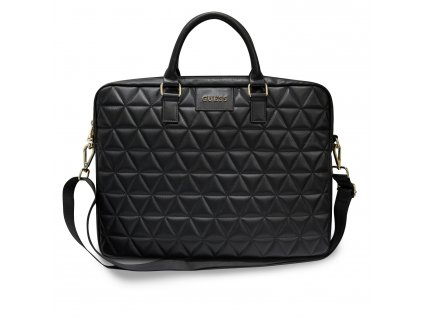 """Taška na notebook 15"""" - Guess, Quilted Bag Black"""