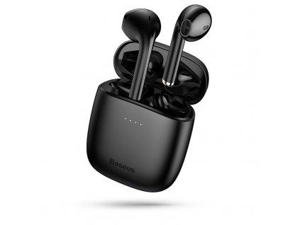 Bezdrátová sluchátka - Baseus, W04 TWS Black