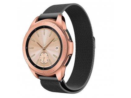 Řemínek pro Samsung Galaxy Watch 42mm - Tech-Protect, Milaneseband Black