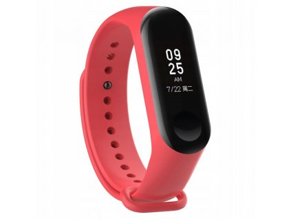 Řemínek pro Xiaomi Mi Band 3 - Tech-Protect, Smooth Red