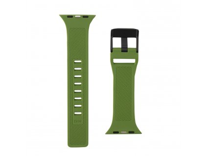 Řemínek pro Apple Watch 42mm / 44mm - UAG, Scout Strap Olive