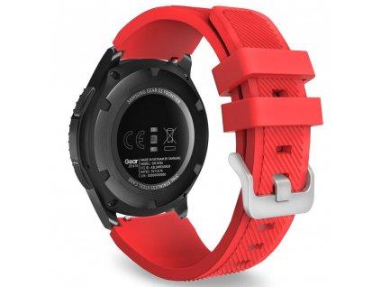 Řemínek pro Samsung Galaxy Watch 46mm - Tech-Protect, Smoothband Red