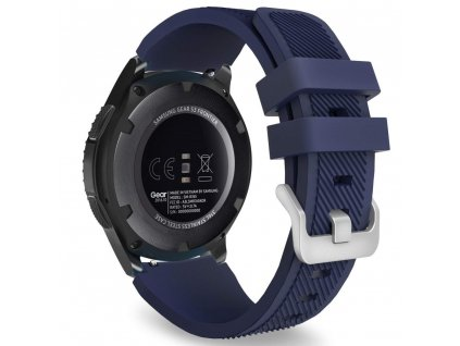 Řemínek pro Samsung Galaxy Watch 46mm - Tech-Protect, Smoothband Blue