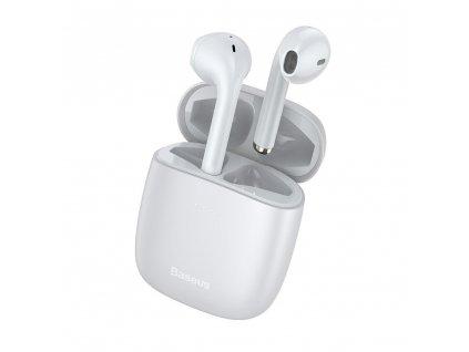 Bezdrátová sluchátka - Baseus, W04 TWS White
