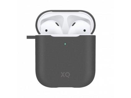 Eko pouzdro pro sluchátka AirPods - Xqisit, Eco Case Black