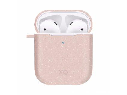 Eko pouzdro pro sluchátka AirPods - Xqisit, Eco Case Pink