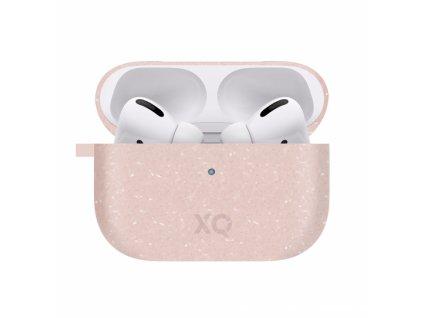 Eko pouzdro na sluchátka AirPods Pro - Xqisit, Eco Case Pink
