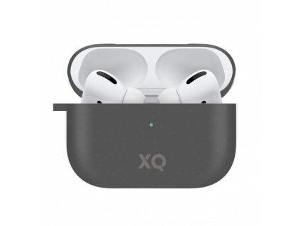 Eko pouzdro na sluchátka AirPods Pro - Xqisit, Eco Case Black