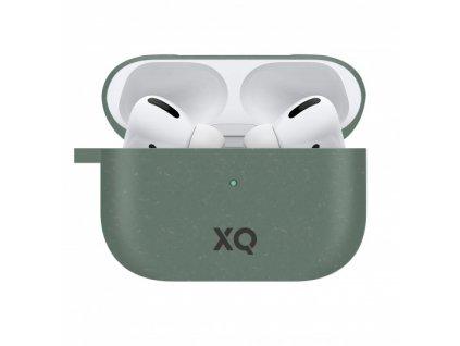 Eko pouzdro na sluchátka AirPods Pro - Xqisit, Eco Case Green