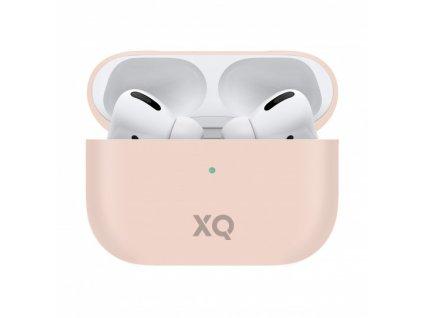 Pouzdro na sluchátka AirPods Pro - Xqisit, Silicone Case Pink