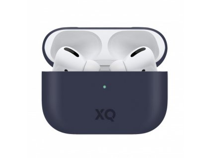 Pouzdro na sluchátka AirPods Pro - Xqisit, Silicone Case Blue