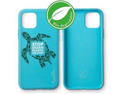 Eko kryt pro iPhone 11 - Wilma, Stop Plastic Turtle Blue