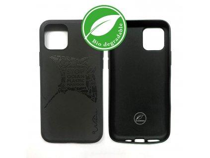 Eko kryt pro iPhone 11 - Wilma, Stop Plastic Manta Black