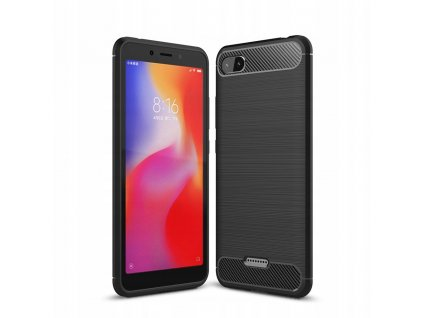 Ochranný kryt pro Xiaomi Redmi 6A - Tech-Protect, Tpucarbon Black