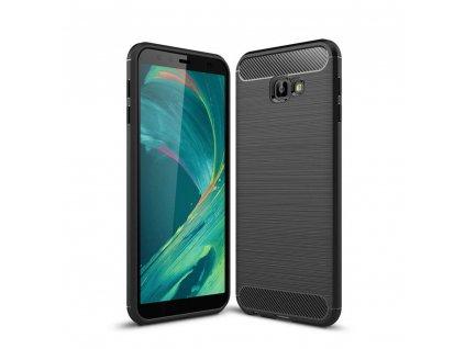 Ochranný kryt pro Samsung GALAXY J4 PLUS (2018) J415F - Tech-Protect, Tpucarbon Black