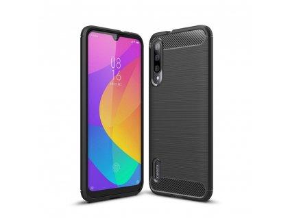 Ochranný kryt pro Xiaomi Mi A3 - Tech-Protect, Tpucarbon Black