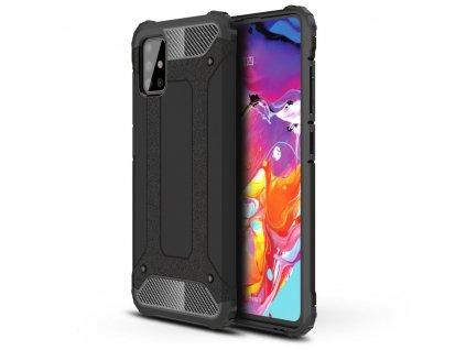 Ochranný kryt na Samsung GALAXY A71 A715F - Tech-Protect, Xarmor Black