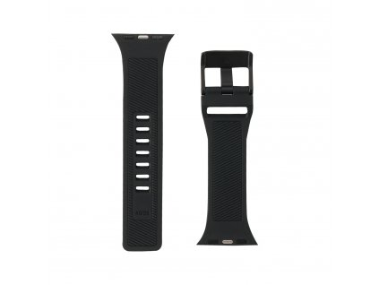 Řemínek pro Apple Watch 42mm / 44mm - UAG, Scout Strap Black