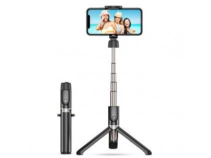 Selfie tyč s Bluetooth ovladačem a stojánkem - ESR, Wireless Selfie Stick Tripod Black