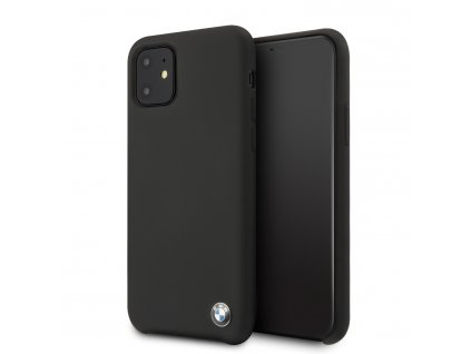 Ochranný kryt na iPhone 11 - BMW, Signature Silicon Cover Black