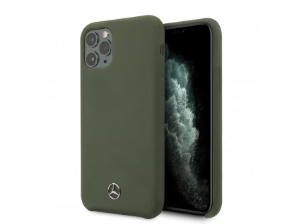 Ochranný kryt na iPhone 11 Pro - Mercedes, Liquid Silicon Green