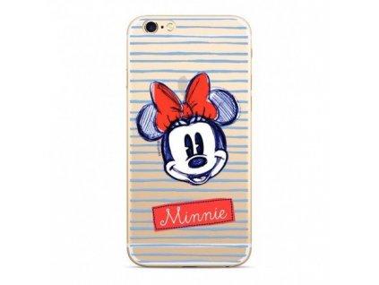 Ochranný kryt pro iPhone XS / X - Disney, Minnie 011