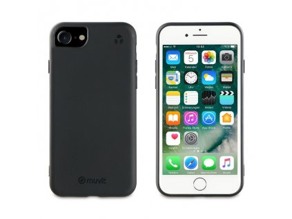 Eko kryt pro iPhone 8 / 7 / 6s / 6 / SE (2020) - Muvit, Recycletek Black