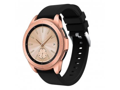 Řemínek pro Samsung Galaxy Watch 42mm - Tech-Protect, Smoothband Black