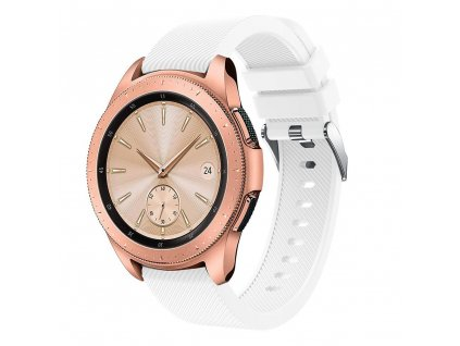 Řemínek pro Samsung Galaxy Watch 42mm - Tech-Protect, Smoothband White