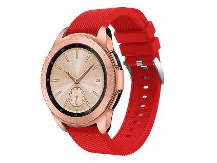 Řemínek pro Samsung Galaxy Watch 42mm - Tech-Protect, Smoothband Red